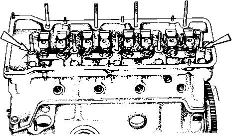 Установочные втулки для корпуса подшипников распределительного вала.