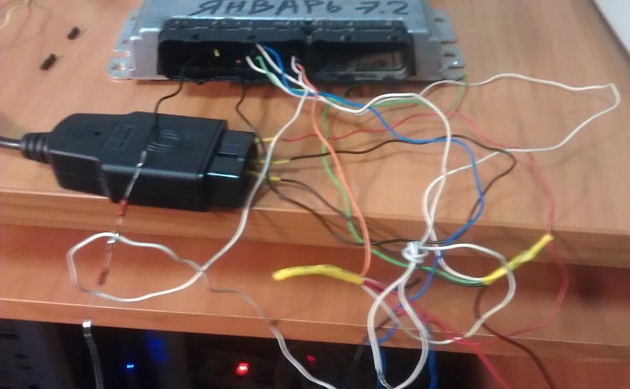 Как перепрошить контроллер Январь 7.2