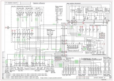Электрическая схема ГАЗель