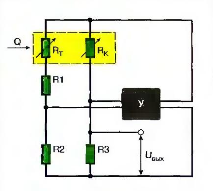 Функциональная схема датчика