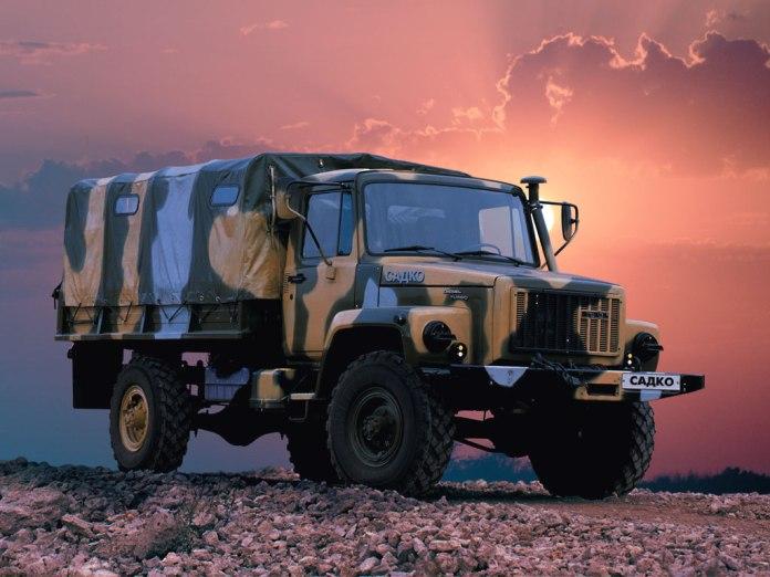 Электрическая схема ГАЗ-3308,
