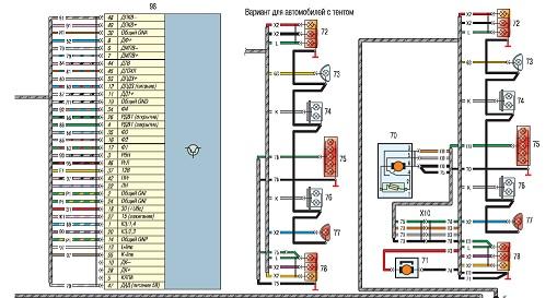 Электрические схемы УАЗ Хантер