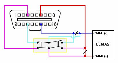 Доработка адаптера ELM327