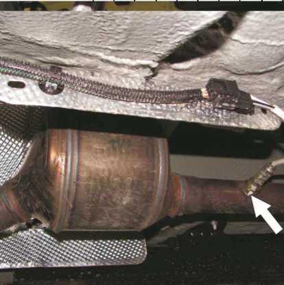Проверка герметичности системы выпуска отработавших газов