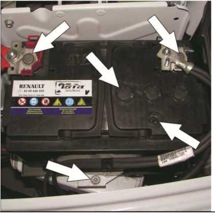 Проверка аккумуляторной батареи