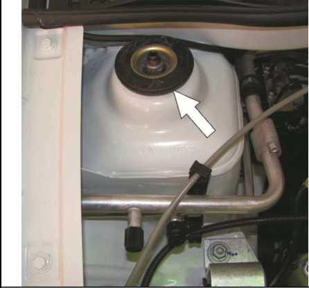 Проверка состояния верхних опор амортизаторных стоек передней подвески