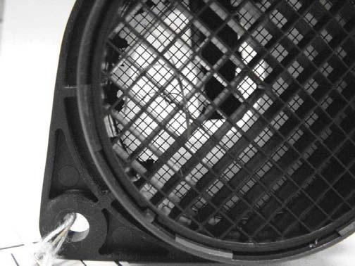 Загрязнение датчика массового расхода воздуха (инородные частицы)