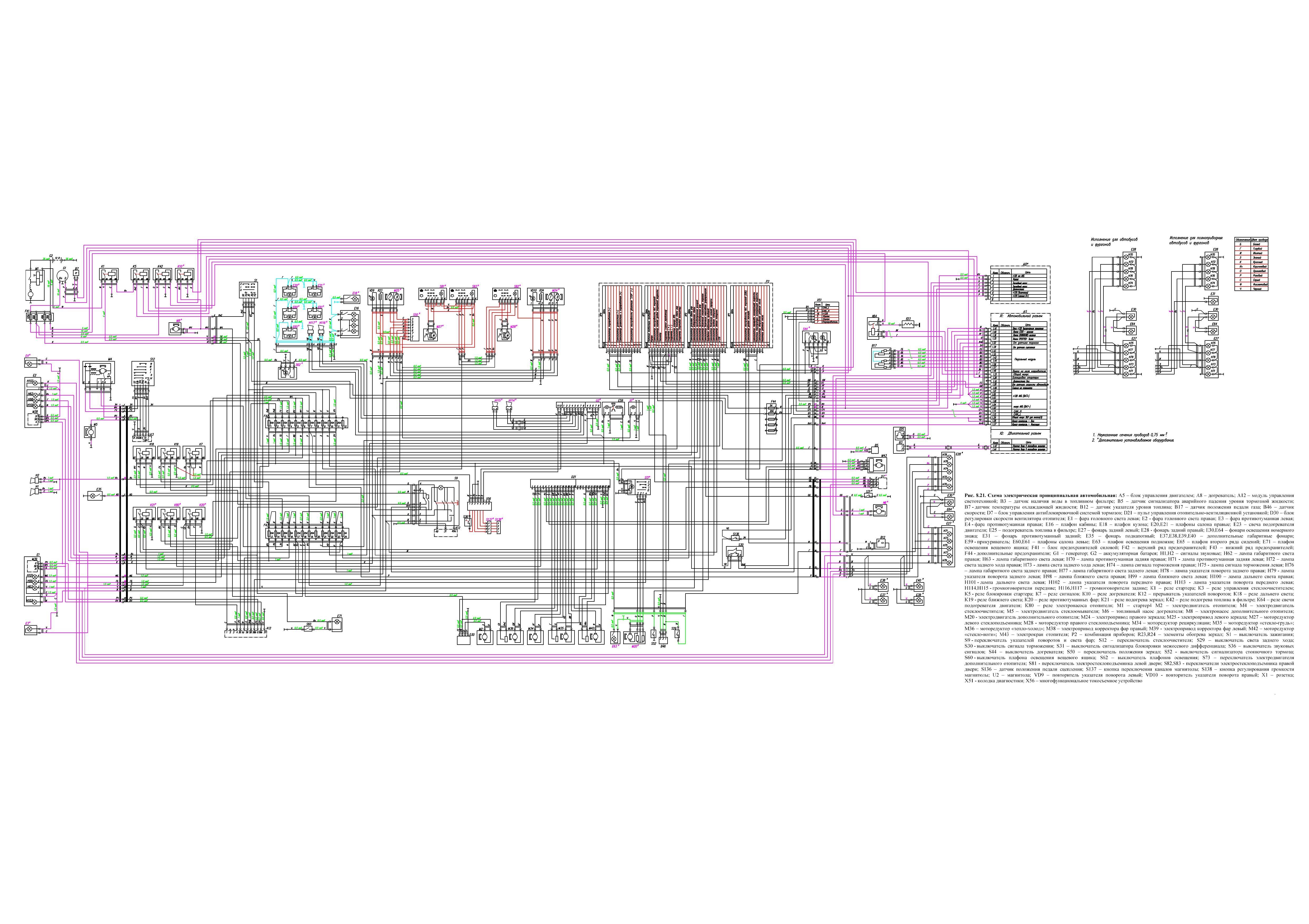Система отопления газель камминз схема