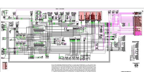 Принципиальная электрическая схема Газель с двигателем УМЗ-4216