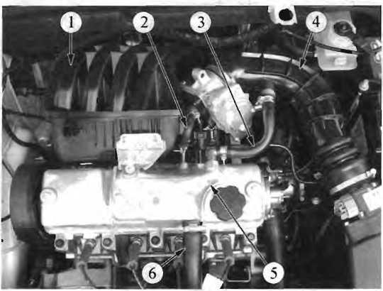 Система вентиляции картера ВАЗ 11183