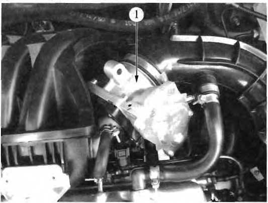 Дроссельный патрубок с электроприводом
