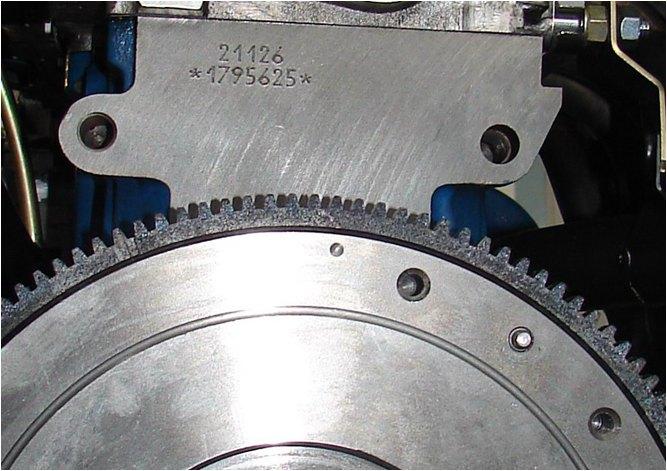 Маркировка блока цилиндров двигателя ВАЗ-21126