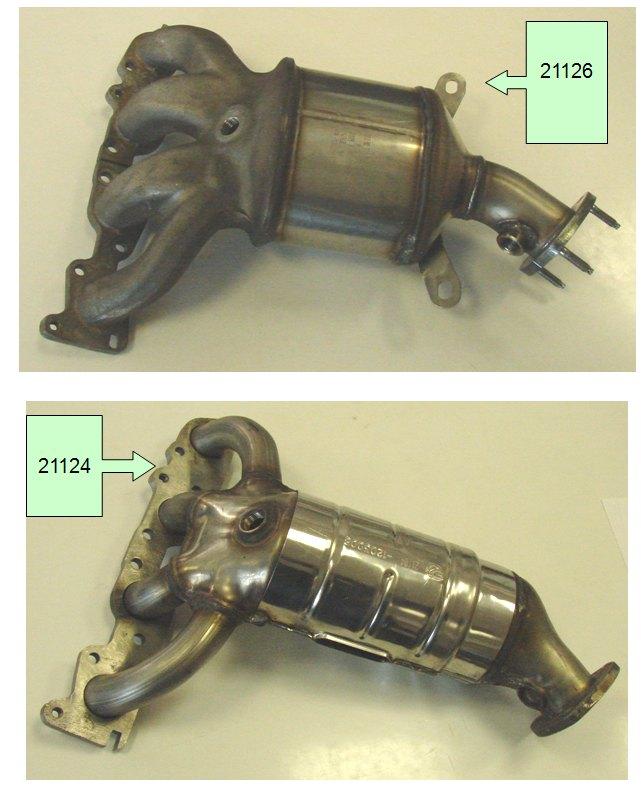 Катколлектор ВАЗ 21126