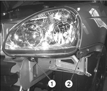 Как снять переднюю фару на Лада Приора (фото)