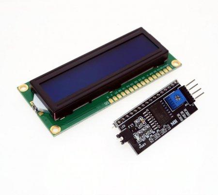 Дисплей LCD1602 I2C