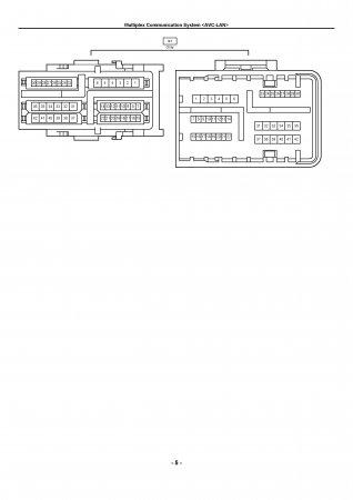 Lexus LX470 - мультиплексная система связи AVC-LAN