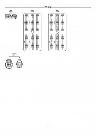 Lexus LX470 - электрическая схема подключения генератора