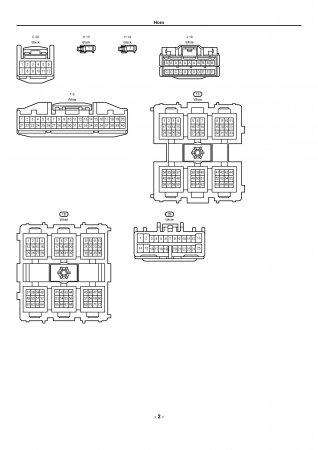 Lexus LX470 - электрическая схема звукового сигнала