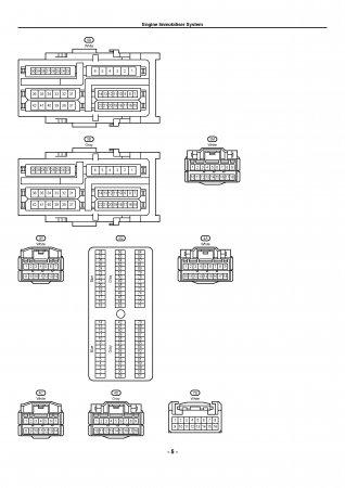Lexus LX470 - электрическая схема иммобилайзера